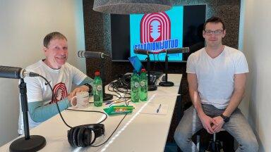 Rein Sokk ja Karl Rinaldo Manta Maja stuudios