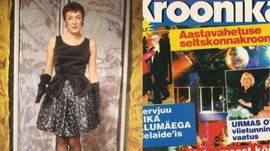 ESIMENE peatoimetaja Maire Aunaste ja esimene Kroonika.