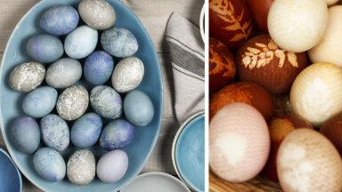 Kuidas värvida mune käepäraste ja looduslike vahenditega