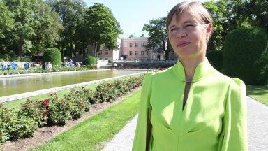 DELFI VIDEO   President Kersti Kaljulaid: väikese riigina naiskondliku kuldmedali võitmine on väga eriline