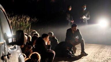 Läti piirivalvurid on tabanud taas rühma migrante.