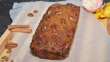 РЕЦЕПТ С ФОТО | Нежный и сочный морковный кекс без сахара. Готовим со специалистом по питанию из Таллинна