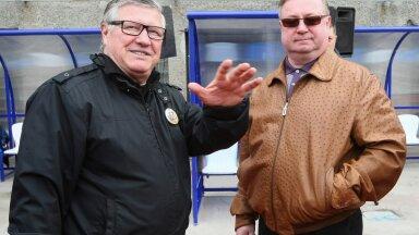 """Геннадий Орлов (слева) и глава """"Динамо"""" Сергей Степашин"""