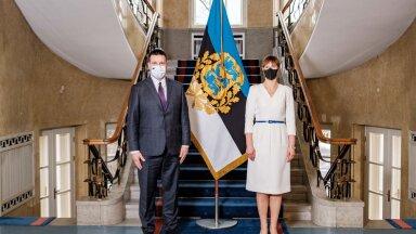 President Kaljulaid arutas riigikogu uute juhtidega kroonviiruskriisi vastast võitlust