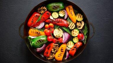 Grillitud köögiviljad on suurepärane lisand suvistele toitudele.