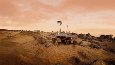 Marsil maandunud kulgur hakkab uurima iidse järve põhjas olevaid setteid
