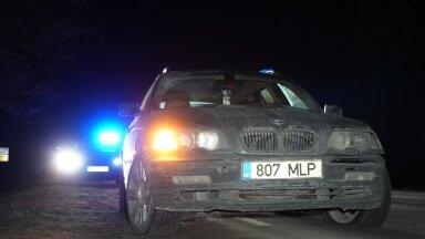Järva- ja Viljandimaal toimus politseil eest ärasõit, mis lõppes põgeneja sundpeatamisega