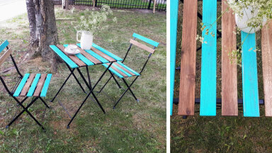 TEE ISE │ Kuidas vana aiamööbel uuele ja värvikale elule äratada?