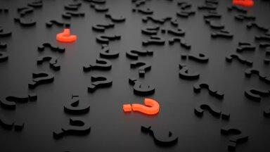 Kui küsimusi on rohkem, kui vastuseid