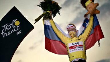 Tour de France'i tänavune võitja Tadej Pogacar