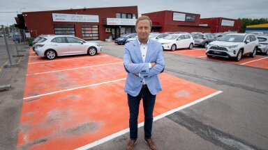 Amservi juhatuse liige Margus Nõmmik ütleb, et kasutatud autode hinnatõus on meelitanud paljud inimesed oma autot müüma.
