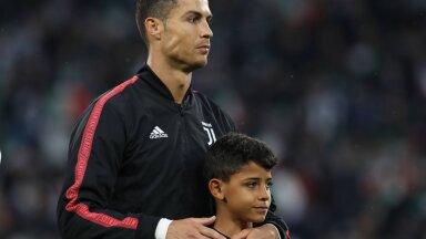 Ronaldo 11-aastane poeg on vanaema sõnul veel andekam kui tema isa sama vanalt