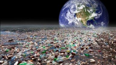 Inimkond on tekitanud umbes 1400 Giza püramiiditäit plastikut