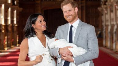 Meghan, Harry ja vastsündinud Archie 2018. aastal.