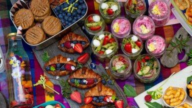 Piknik, piknik, piknik! Aga millega kiirelt ja lihtsalt pinknikukorv täita?