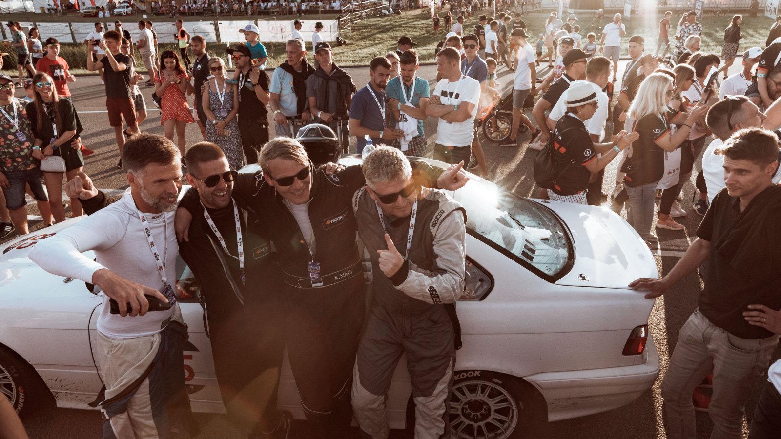 Eestlased noppisid Baltikumi suurimal võidusõiduüritusel esikoha: