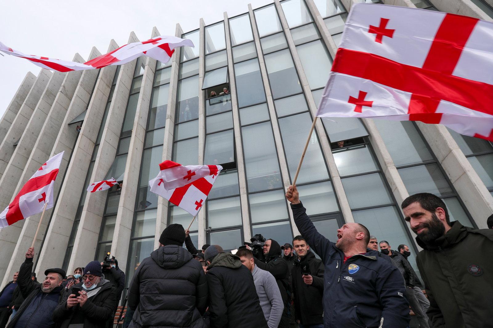 Ilves ja Volker:  Gruusia tulevik demokraatliku riigina on ohus