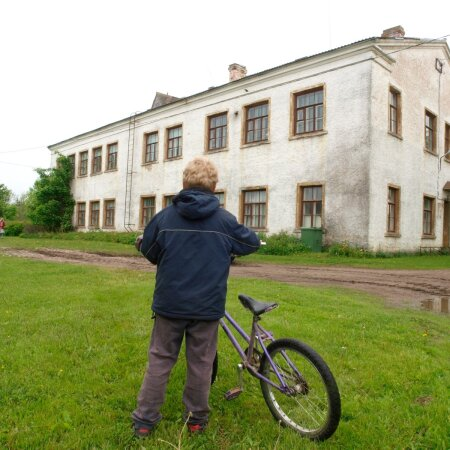 Suletud koolimaja