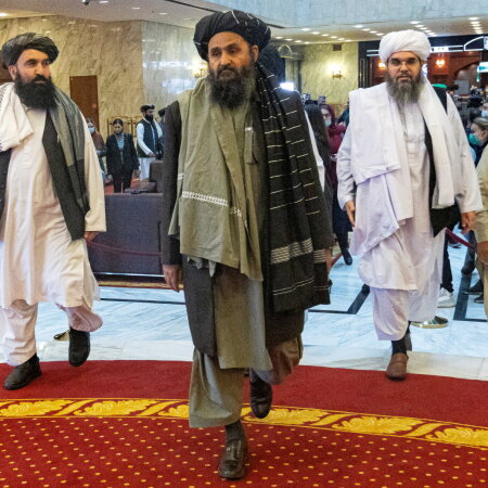 Talibani läbirääkijad Moskvas