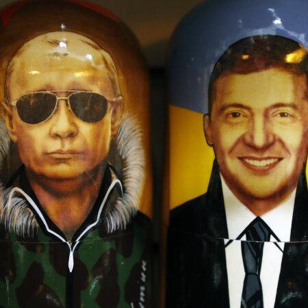 Kes keda? Putin ja Zelenskõi matrjoškadel