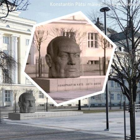 Konstantin Pätsi mälestusmärgi ideekonkursi võidutöö
