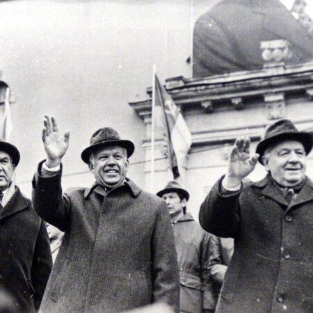 Karl Vaino ja teised ENSV juhid