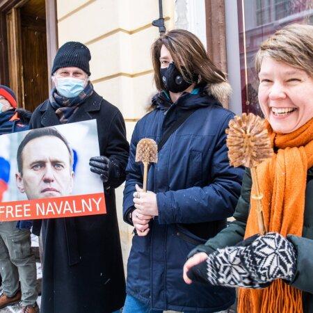 Autor meeleavaldusel Navalnõi toetuseks