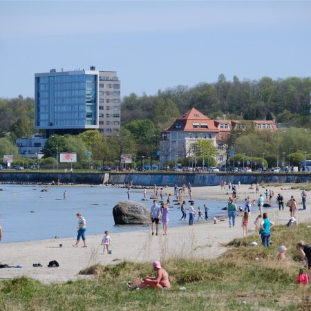 Soe rannailm Tallinnas 12.05.2018