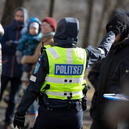 Seaduseelnõu vastane miiting Toompeal 10.04.2021