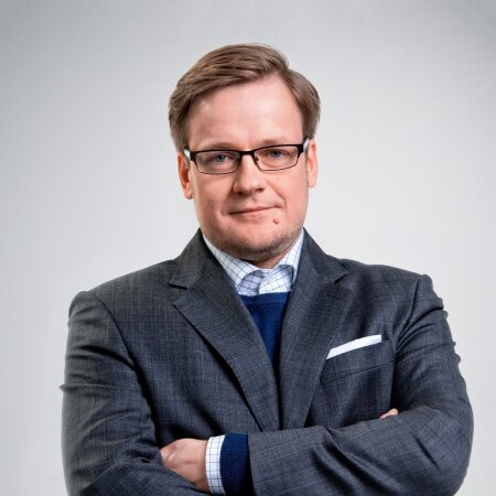 Eesti Ekspressi peatoimetaja Erik Moora