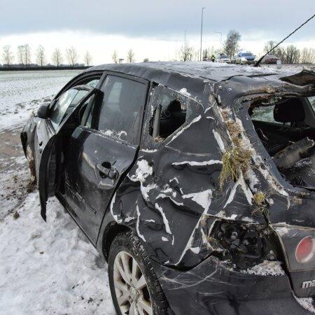 Viljandimaal toimunud avarii