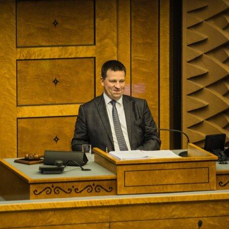 Jüri Ratas, teil ju juba on riigikogus oma haamrike – milleks siis enam need plakatid ja valimised?