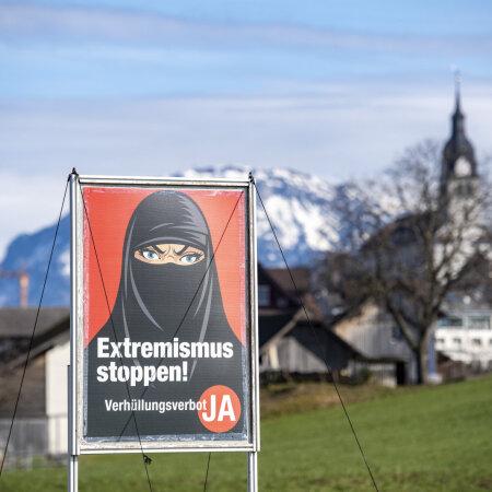 Islami seostamine äärmuslusega viis Šveitsis näokatete keelamiseni