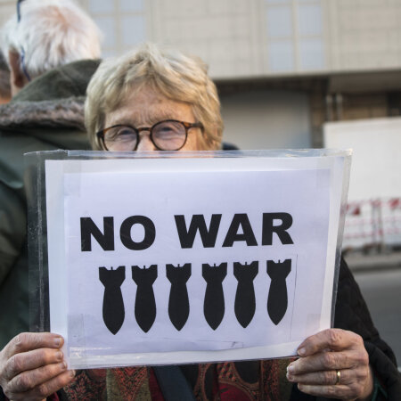 Protestijad Itaalias ei usu, et USA-l on alati õigus