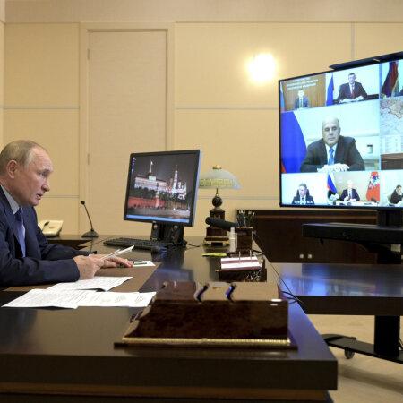 Putin kuulab ettekandeid