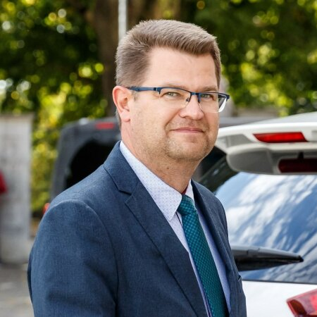 Riigikogu liige Marko Šorin (KE).