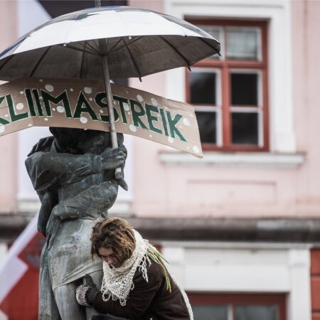 Kliimastreik Tartus 29.11.19