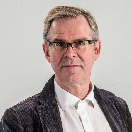 Eesti Ekspressi ajakirjanik Priit Hõbemägi.