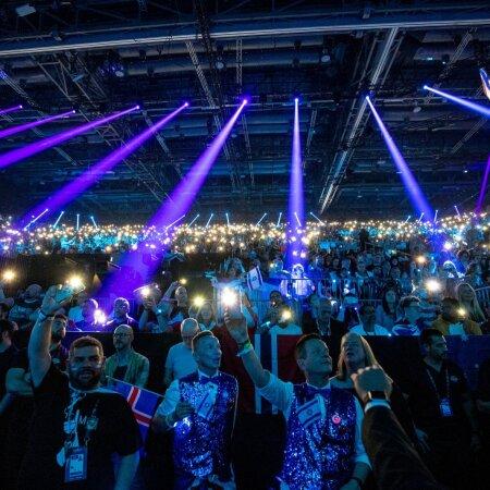 Eurovision 2019 fännid finaali ajal