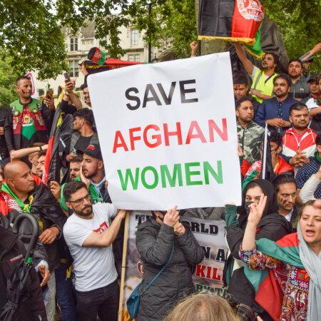 Toetusmeeleavaldus afgaani naistele Londonis