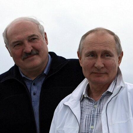 Aljaksandr Lukašenka ja Vladimir Putin