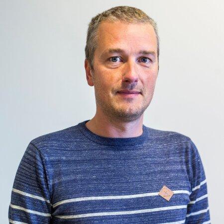 Eesti Ekspressi ajakirjanik Mikk Salu.