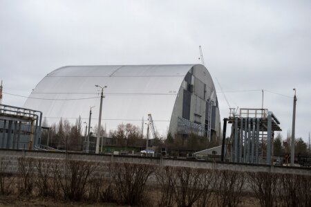 """Строительство нового саркофага """"Укрытие-2"""""""