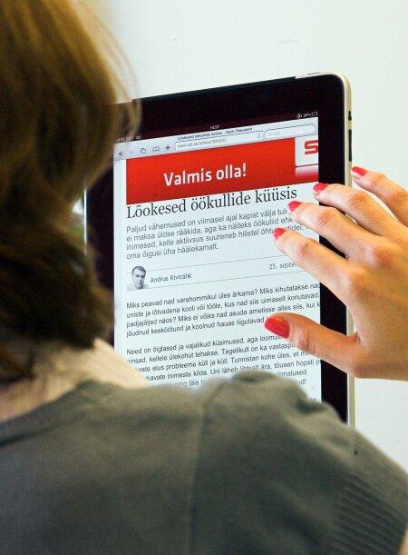 TULEVIK JÕUDIS KOHALE: 2010. aastal vaimustus maailma iPadist. Tahvelarvuti tuli selleks, et jääda.