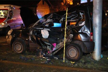 Trammi ja sõiduauto kokkupõrge Tallinnas