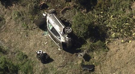 Tiger Woodsi auto pärast avariid