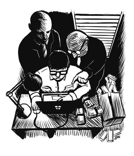 Toomas Tirmaste juhitud grupp pesi Soomest ja Rootsist pärit kuritegelikku raha puhtaks Eestis. Selleks kasutati varifirmasid üle Euroopa. Oma hämaraid tegusid üritati varjata krüpteeritud suhtluskanalite ja IP-aadresside vahetamise kaudu.