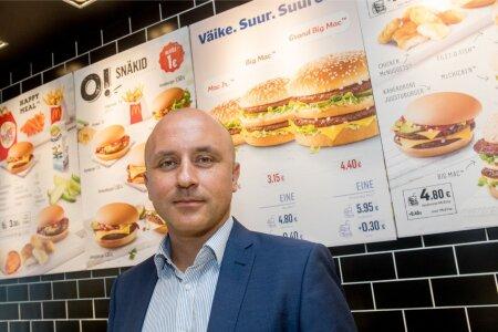 Baltimaade McDonald'si restoranide tegevdirektor Vladimir Janevski.