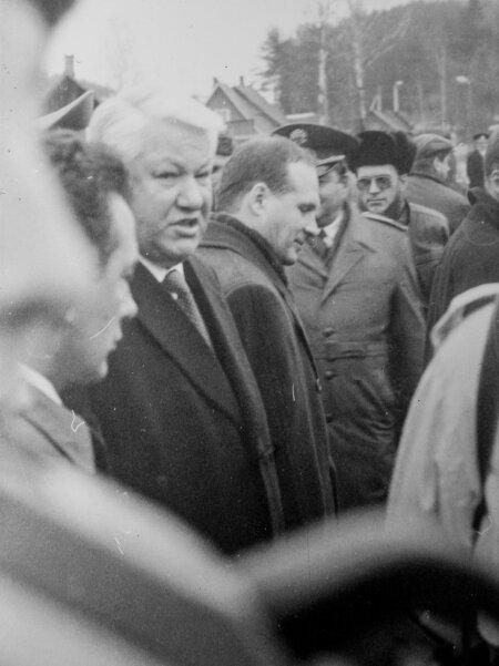 Nii lähedale pääses Maalehe reporter tookord Venemaa presidendile.