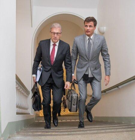 ÄRIMEES HENRY KALLAS JA ADVOKAAT AIVAR PILV: Henry Kallas jätkab võitlust Euroopa Inimõiguste Kohtus.